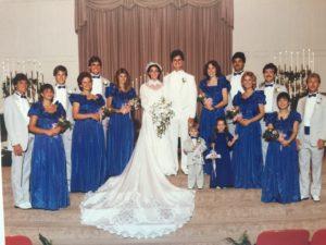1985 John and Rhonda wedding
