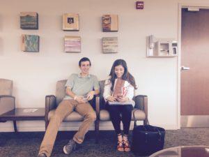 chemo waiting room #danielkickscancer