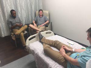 college roommates visit #danielkickscancer