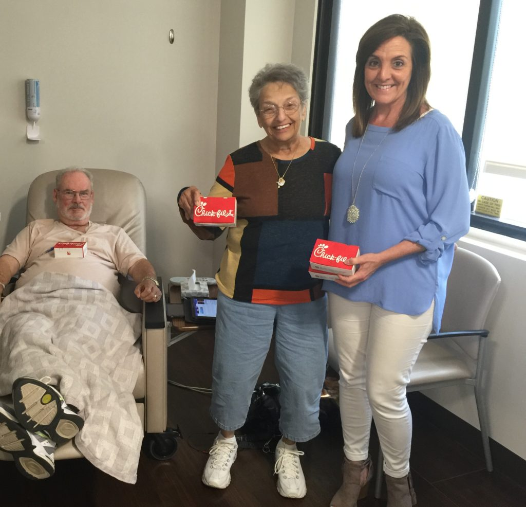 Chick Fil A for cancer patients