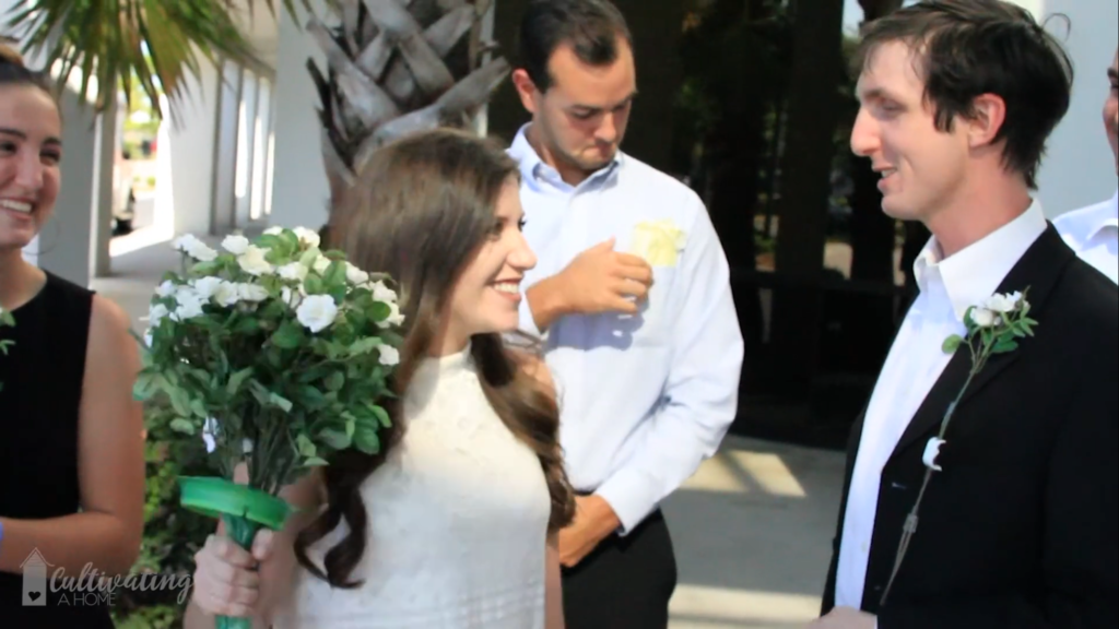 Mock wedding video to celebrate final chemo